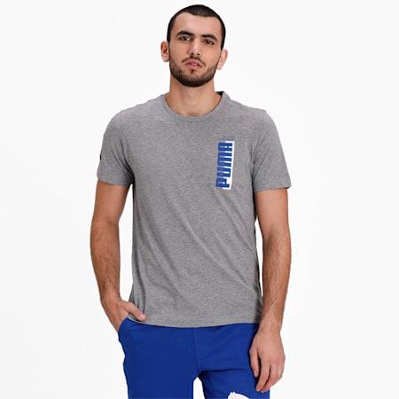 Athletics Men's T-Shirt, Medium Gray Heather, small-IND