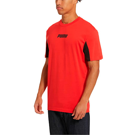 Rebel Men's Tee, High Risk Red, small