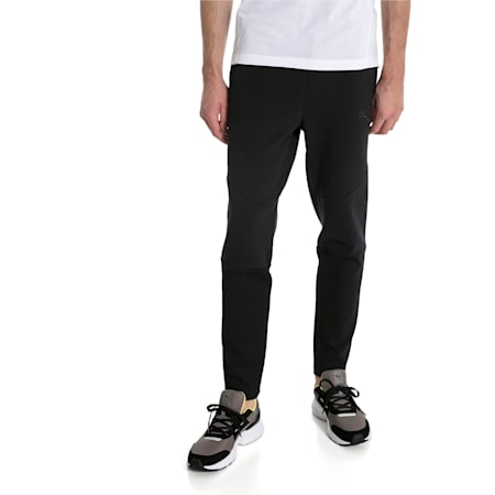 Evostripe Move Knitted Men's Pants, Puma Black, small-IND