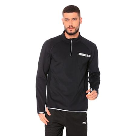 Tec Sports 1/2 Zip, Puma Black, small-IND