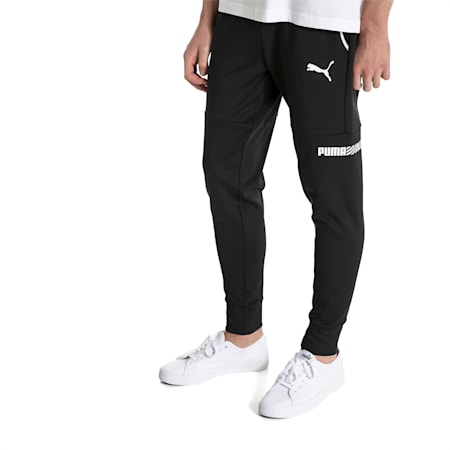 Active Tec Sports Men's Pants, Puma Black, small-IND