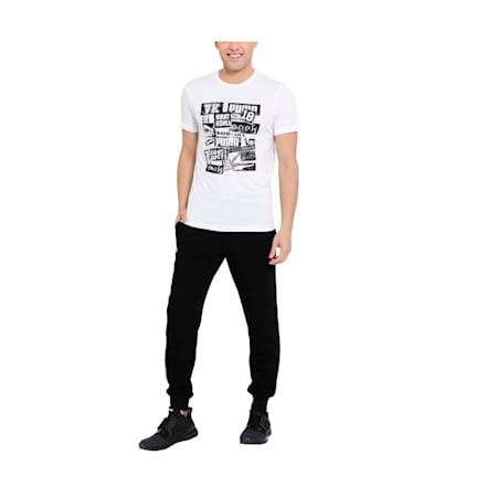 Virat Kohli Graphic Men's T-shirt, Puma White, small-IND