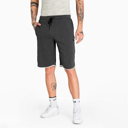 PUMA x Virat Kohli Knitted Men's Shorts, Dark Gray Heather, small-IND