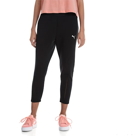 EVOSTRIPE Move Women's Pants, Cotton Black, small-SEA