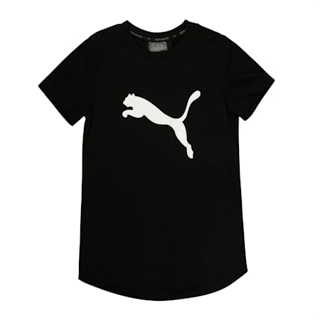 Active Sports Tee, Puma Black-Metallic Silver, small-IND