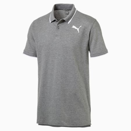 Modern Sports Men's Polo Shirt, Medium Gray Heather, small-SEA