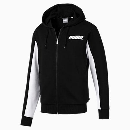 Rebel Hooded Jacket, Cotton Black, small-SEA