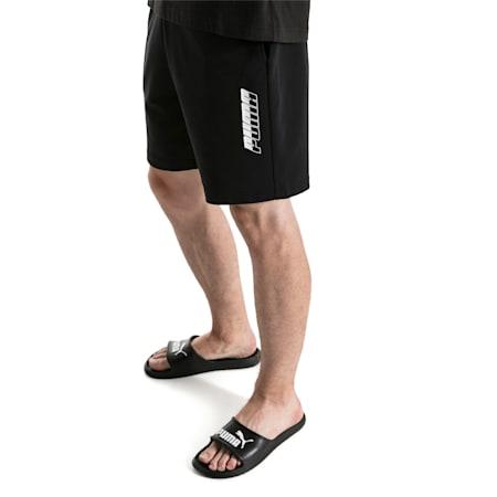 """Rebel 9"""" Men's Shorts, Cotton Black, small-SEA"""