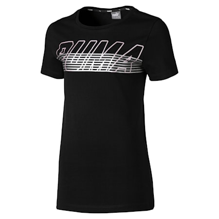 Alpha Logo Tee, Cotton Black, small-IND