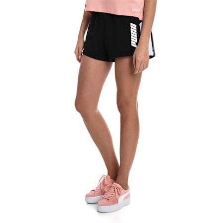 Modern Sports Women's Shorts, Puma Black, small-SEA