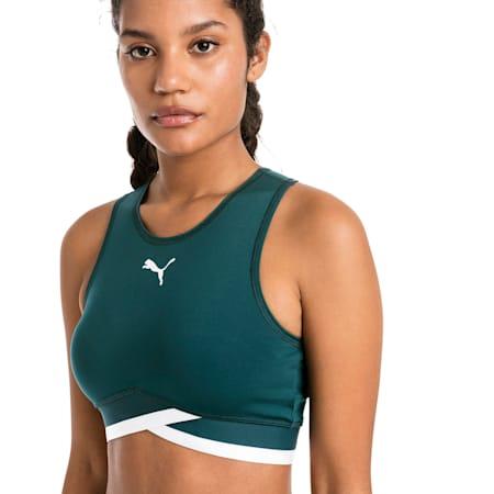 Soft Sports Women's Crop Top, Ponderosa Pine, small