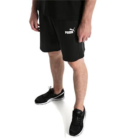 """Amplified 9"""" Men's Shorts, Cotton Black, small-IND"""