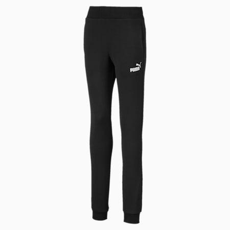 Essentials Girls' Sweatpants, Puma Black, small-SEA