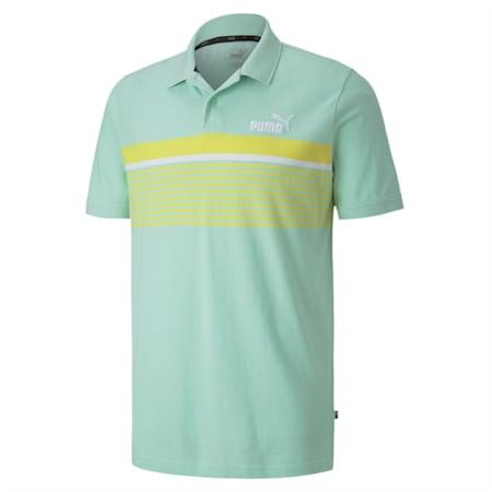 Essentials+ Short Sleeve Men's Polo Shirt, Mist Green, small-IND