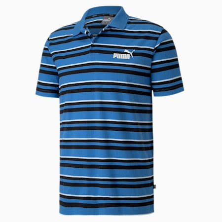 Essentials Short Sleeve Men's Polo Shirt, Palace Blue, small-IND