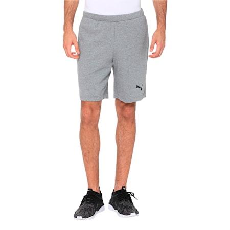 Active P48 Modern Sports Men's Sweat Shorts, Medium Gray Heather, small-IND