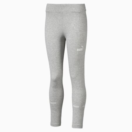 Amplified Girls' Leggings, Light Gray Heather, small-IND