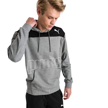 Modern Sports Men's Hoodie, Medium Gray Heather, small