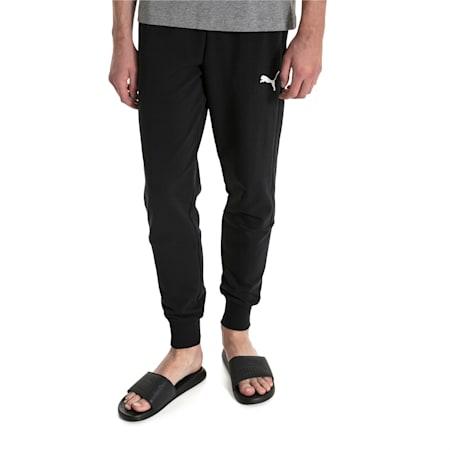 Modern Men's Sweatpants, Puma Black, small-IND