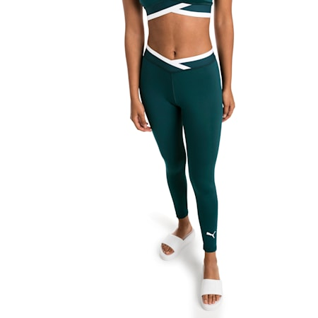 Soft Sports 7/8 Women's Leggings, Ponderosa Pine, small