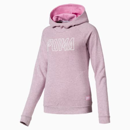 Athletics Hoody, Pale Pink Heather, small-IND
