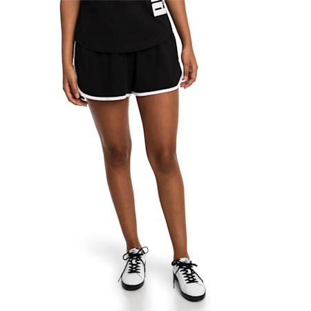 Summer Damen Shorts, Cotton Black, small