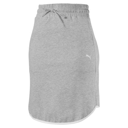 Summer Skirt, Light Gray Heather, small-IND