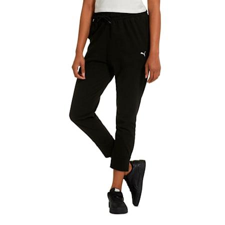 Women's Summer Pants, Cotton Black, small