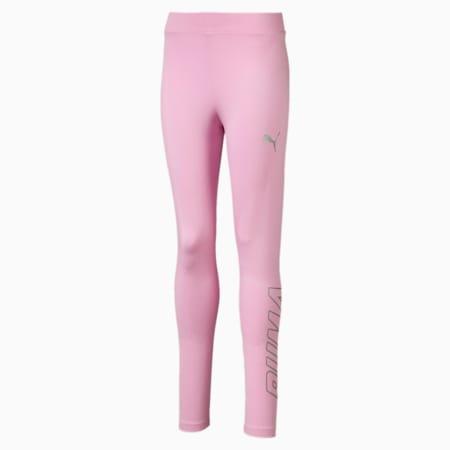 Leggings da bambina Alpha, Pale Pink, small