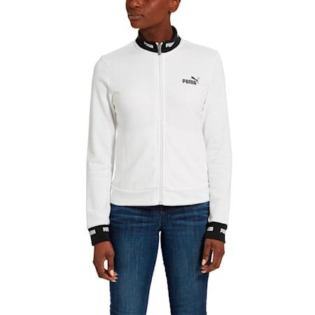 Amplified Track Jacket, Puma White, small
