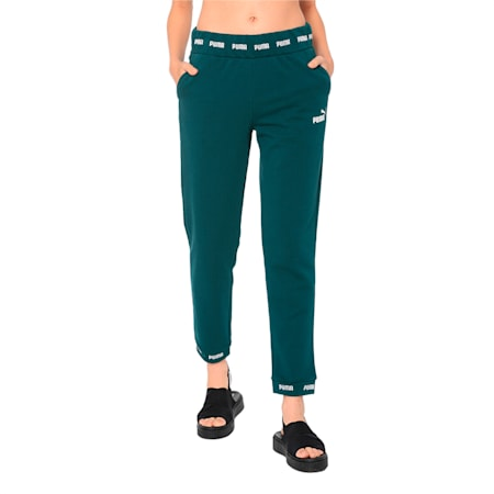Amplified Knitted Women's Sweatpants, Ponderosa Pine, small-IND