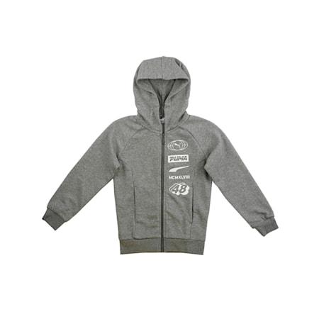 Alpha Hooded Jacket, Medium Gray Heather, small-IND