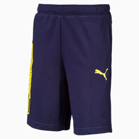 Active Boys' Sweat Shorts, Peacoat, small-SEA