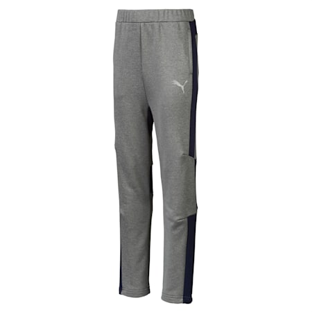 Energy Poly Boys' Sweatpants, Medium Gray Heather, small-SEA