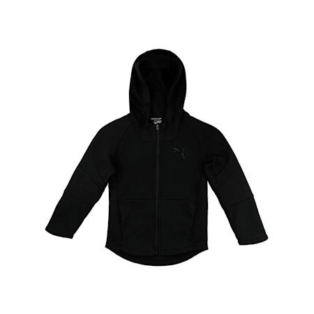 Evostripe Hooded Jacket, Cotton Black, small-IND