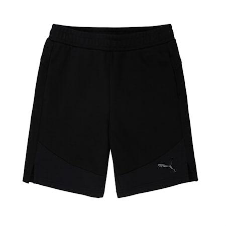 Evostripe Shorts, Cotton Black, small-IND