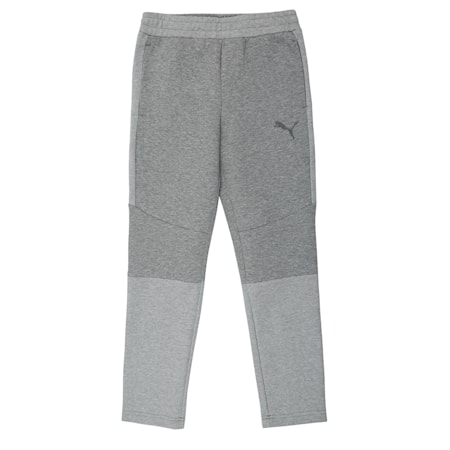 Evostripe Pants, Medium Gray Heather, small-IND