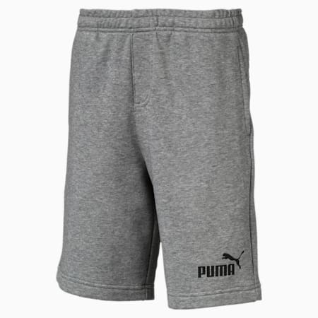 Essentials Boys' Sweat Shorts, Medium Gray Heather, small-SEA