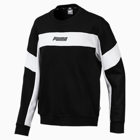 Sweatshirt Rebel pour garçon, Cotton Black, small