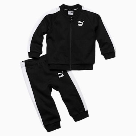 Minicats T7 Full Zip Babies' Jogger Set, Cotton Black, small