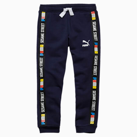 Sesame Street Knitted Boys' Pants, Peacoat, small-SEA