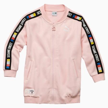 Sesame Street Girls' Jacket, Veiled Rose, small-SEA