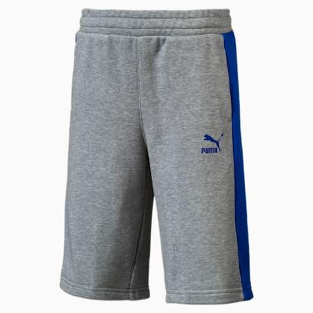 Classics Boys' Shorts JR, Medium Gray Heather, small
