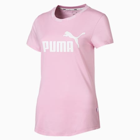 Amplified Women's Tee, Pale Pink, small-SEA