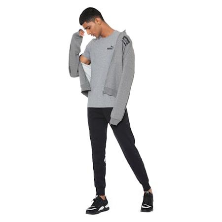 Amplified Fleece Men's Sweatpants, Cotton Black, small-IND