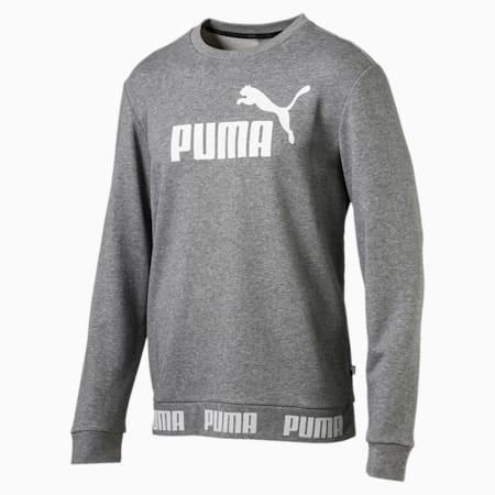 Amplified Men's Sweater, Medium Gray Heather, small-SEA