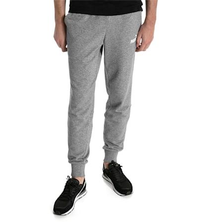 Amplified Men's Sweat Pants, Medium Gray Heather, small-SEA
