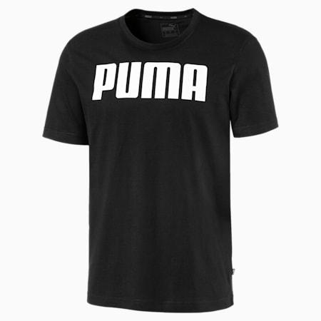 Essentials T-shirt voor heren, Cotton Black, small