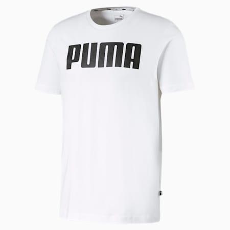 Essentials T-shirt voor heren, Puma White, small
