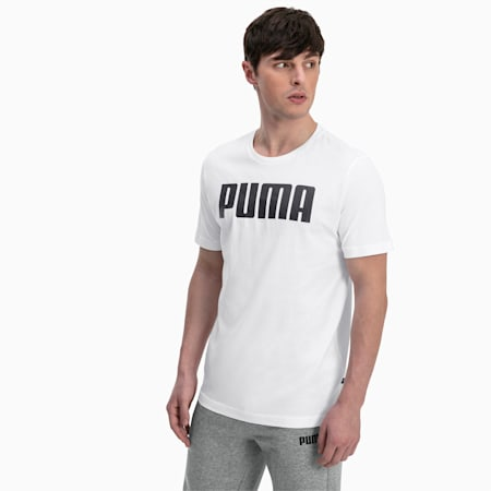 Essentials Herren T-Shirt, Puma White, small